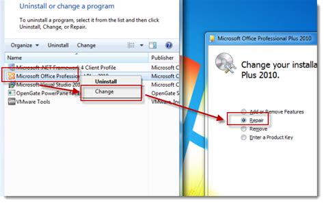 Office Repair by How To Repair Your Microsoft Office Installation