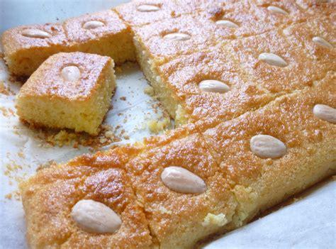 recette de cuisine arabe petits gâteaux de semoule aux amandes