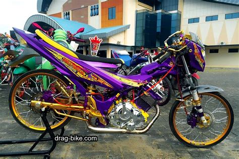 bike drag racing 50 gambar modifikasi satria fu thailook terbaik