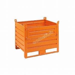 Caisse Palette Métallique : catalogue complet de conteneur en t le caisse palette ~ Edinachiropracticcenter.com Idées de Décoration