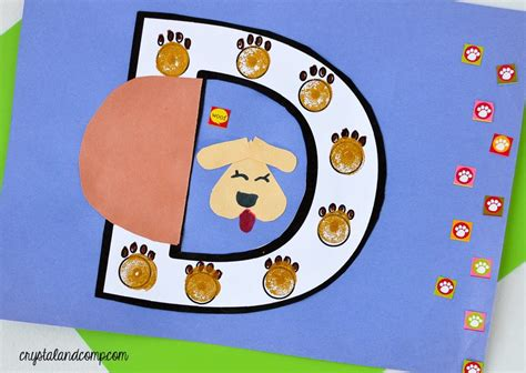 d is for doghouse letter of the week 568   dog craft for preschoolers 1024x727
