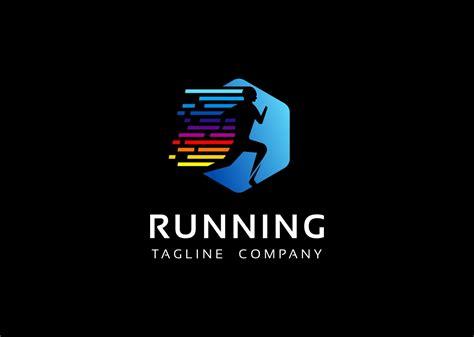 running logo template