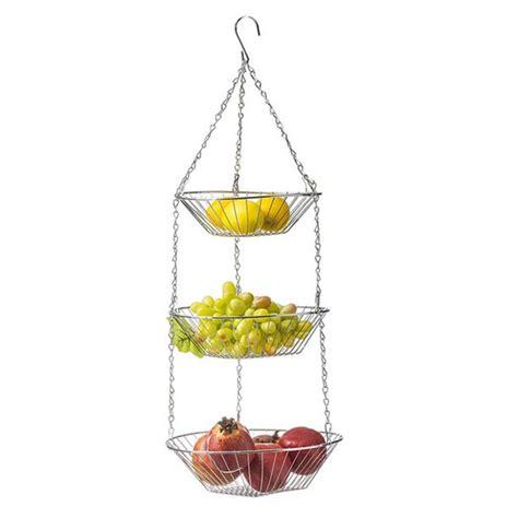 loalirando 3 tier wire hanging fruit basket