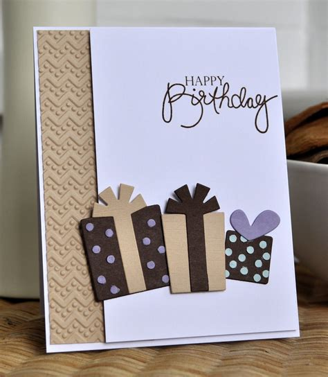 For me, i love receiving handmade birthday cards from my creative friends. Inky Fingers: Papertrey Ink Unisex birthday card