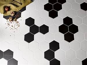 Carrelage Hexagonal Blanc : carrelage hexagonal blanc ~ Premium-room.com Idées de Décoration