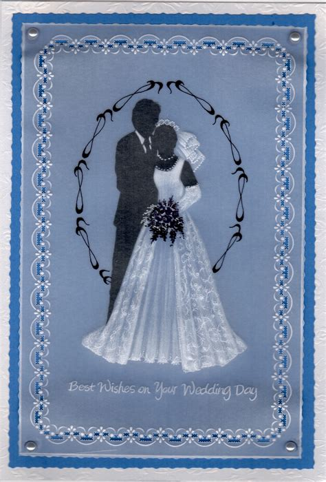 dorothy holness  wishes   wedding day dhproject  card pattern project