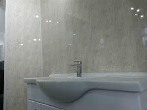 16 beige marble granite effect bathroom cladding gloss pvc for Pvc sheets for bathroom walls