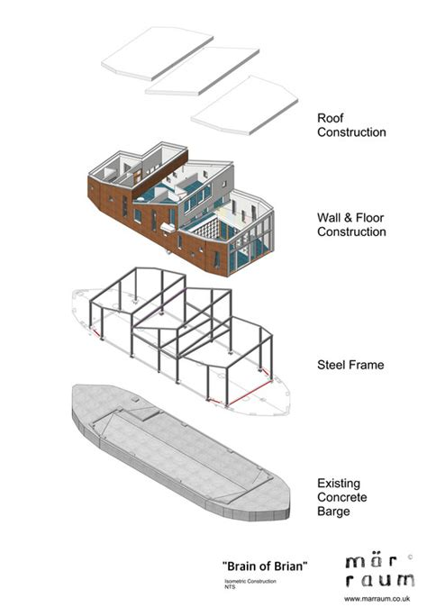 brain  brian floating office barge marraum
