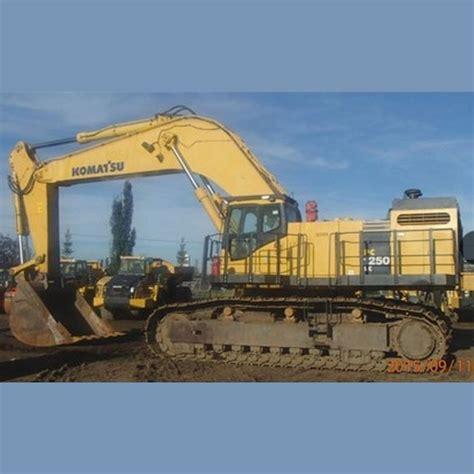 komatsu excavator supplier worldwide  pc lc