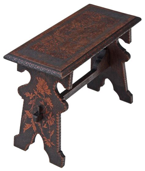 Chair Bench by Hardwood Work Window Seat Bench C 1900