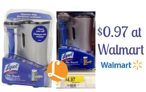 Lysol Coupon - Just $0.97 at Walmart! -Living Rich With
