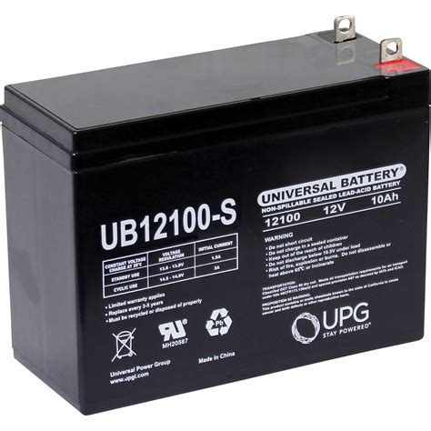 upg sealed lead acid battery agm type   amps