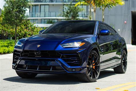 Lamborghini Urus - Blue - Lux Miami