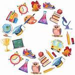 Education Watercolor Clipart Icons Illustration Classroom Teacher