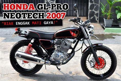 Modif Motor Gl Pro by Modif Honda Gl Pro And Max Honda Gl Max Neo Tech