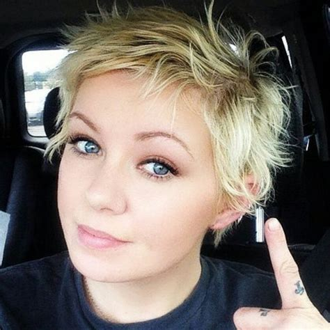 mind blowing short hairstyles  fine hair short