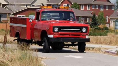 Truck Fire International 1970 Harvester Trucks Pickup