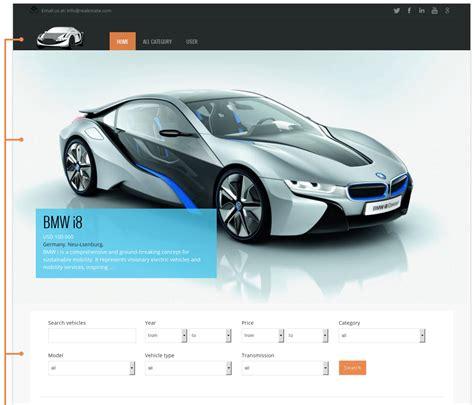 Orda Car Template  Free Joomla Theme Vinaora