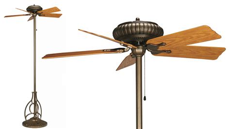 free standing ceiling fan standing ceiling fans could be more useful than it sounds