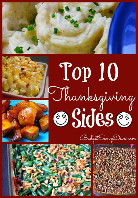 sides recipes 10 best thanksgiving side recipe