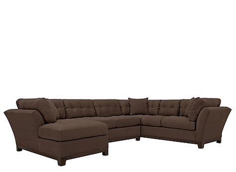 Metropolis 3pc Sectional Sofa by Home Metropolis 3 Pc Microfiber Sectional