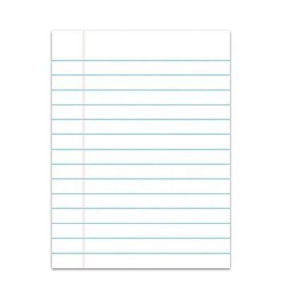 tablica scieralna kartka  linie