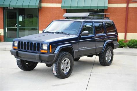 linex jeep cherokee buy used 2001 jeep cherokee xj sport lifted new lift