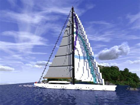 home design diamonds sailing yacht minecraft project