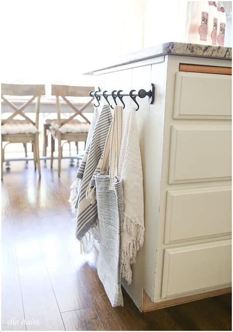 clever kitchen towel storage ideas