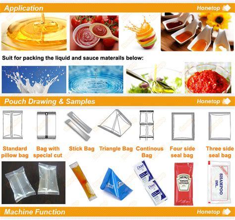 sachet packing machines vffs liquid packing machine small tomato paste packing machine