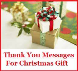 Thank You Note For A Gift From Boss Thank You Messages Christmas