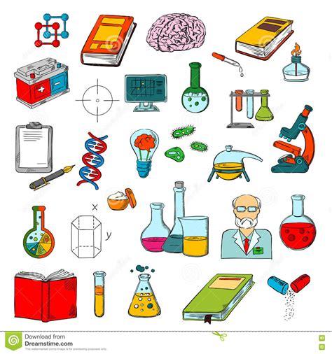 physique chimie icone de recherches de la science de