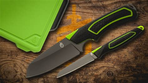 gerber kitchen knives gerber releases a handy outdoor kitchen set knife newsroom