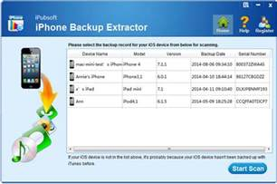 iphone backup extractor iphone backup extractor free softwares house