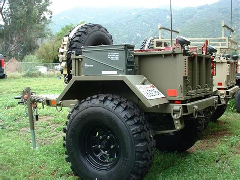 military jeep trailer off road trailer mil spec m8 military trailer