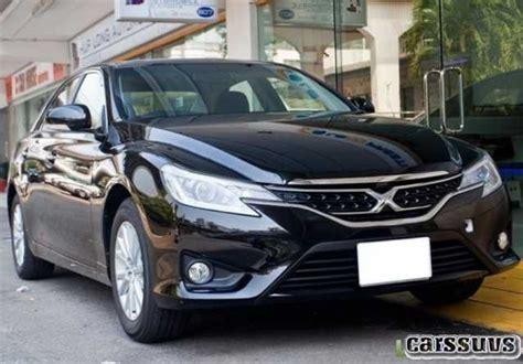 20182019 Toyota Mark X  Chic Righthand Drive Sedan