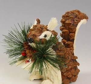 Pine Cone Squirrel Craft CRAFT IDEAS Pinterest