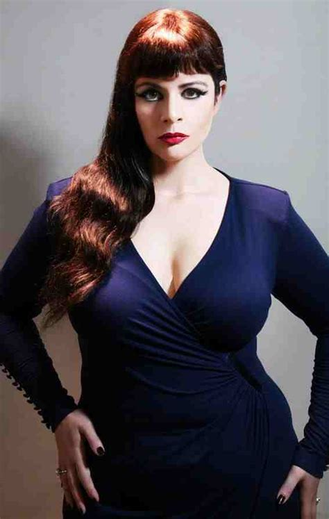 Name Of Model fashion news report top leading plus size model