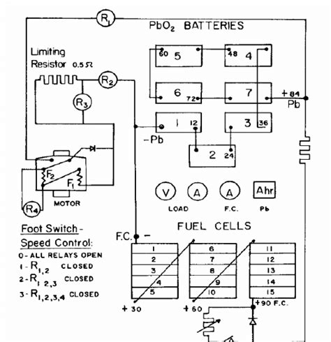 Zone Electric Car Wiring Diagram by Electric Circuit Diagram Of The Fuel Cell Battery Hybrid