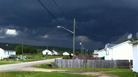 severe thunderstorm warning youtube