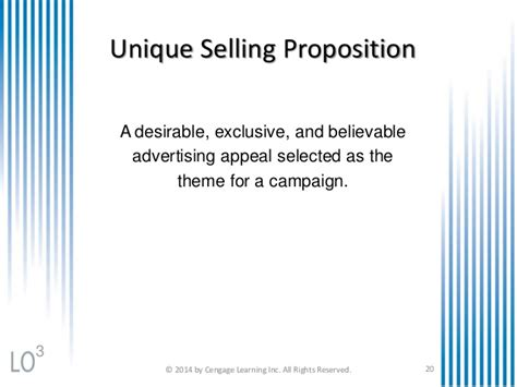 Unique Selling Proposition Resume Exles by Unique Selling Proposition Sle Images
