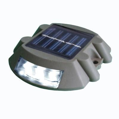 dock edge solar dock and deck light with 6 led lights 96
