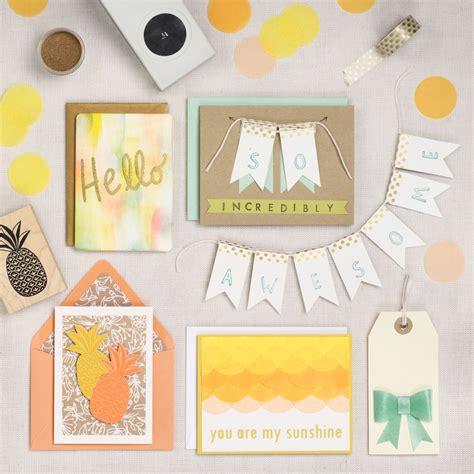 Creative Card Making Sunny Greetings  Paper Source Blog