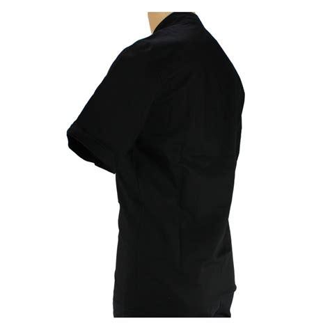 veste de cuisine noir veste de cuisine noir manche courte et légère pour homme