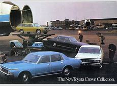 1972 Toyota Crown Collection brochure