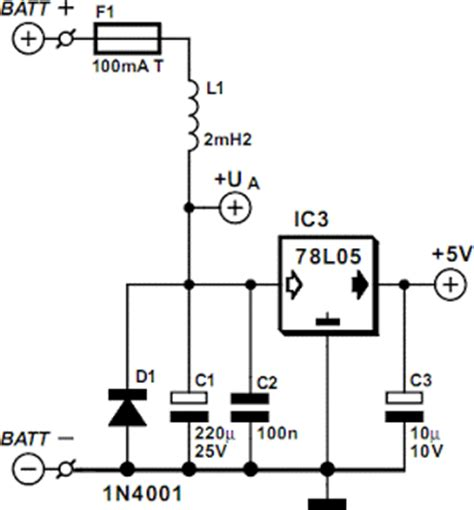 Motorcycle Battery Monitor Circuits Projects