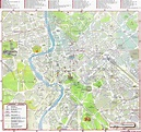 Rome Map - Detailed City and Metro Maps of Rome for ...