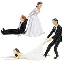 mariage et mariages figurine gâteau de mariage