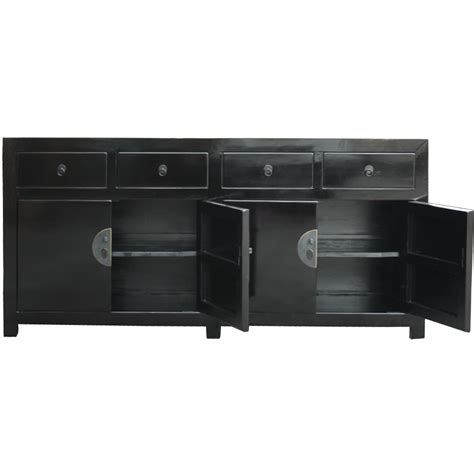 Black Lacquered Sideboard by Sideboard Buffet Black Lacquer