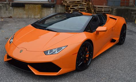 Lamborghini Huracan Spyder AWD   Luxury Car Rentals ...